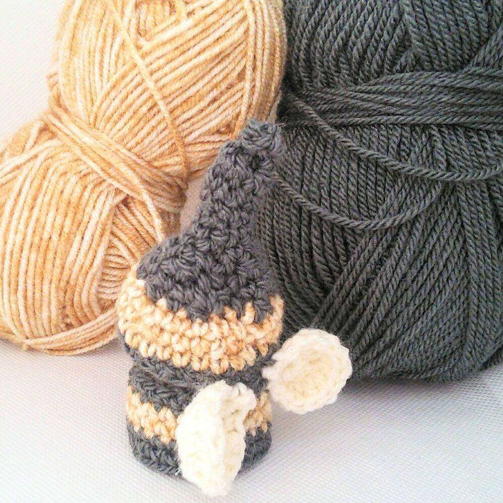 Free crochet pattern - cork gnome