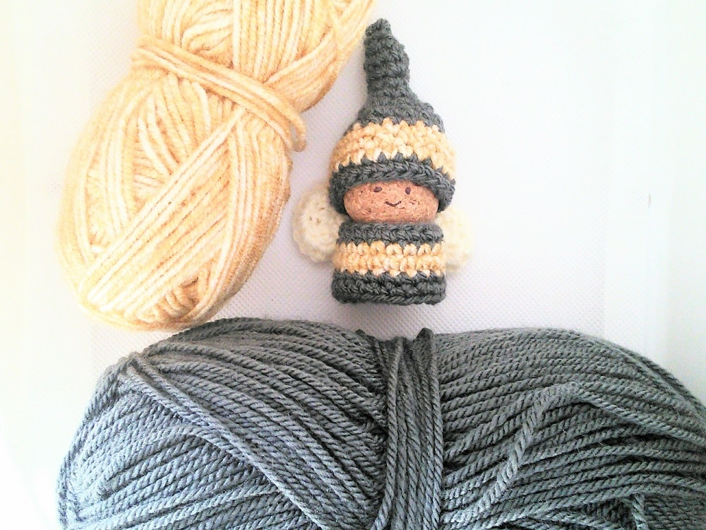 Free Crochet Pattern Bee Gnome