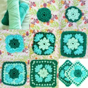 Easy crochet granny square