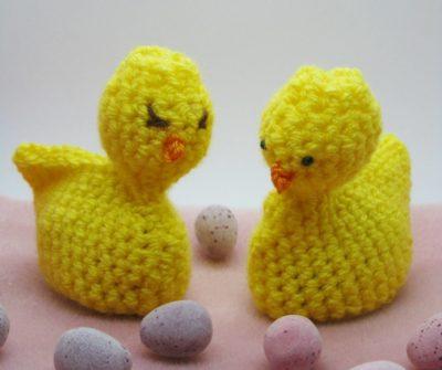 Free Crochet Pattern - Cream Egg Easter Chic