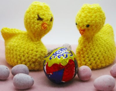 Free Crochet Patterm - Cream Egg Easter Chick