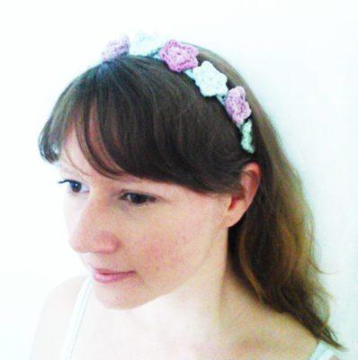 May Day Flower Headband - Free Crochet Pattern