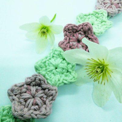Festival boho crochet headband - free pattern