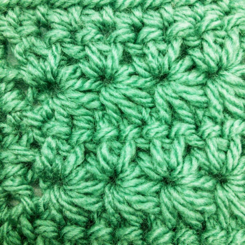 Star Stitch Step-by-Step Tutorial - Crochet Cloudberry