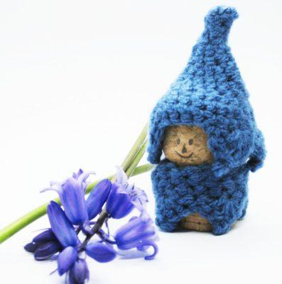 Blue bell Gnome - Free Crochet Pattern