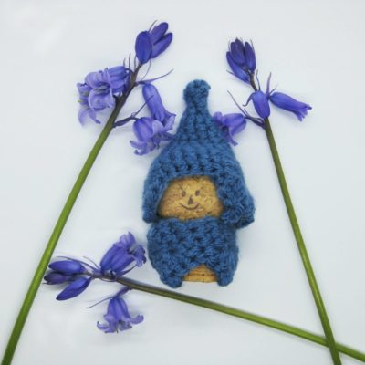 Blue bell Gnome - Free Crochet Pattern