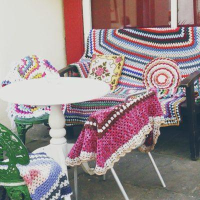 Yarn is all around - Crochet Cloudberry