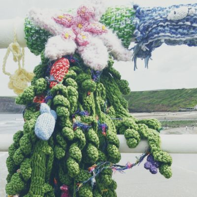 Yarn is all around - Crochet Cloudberry
