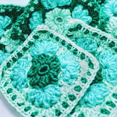 Crochet Cloudberry - Granny Square Pattern