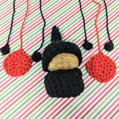 Crochet ladybird gnome - free pattern - Crochet Cloudberry