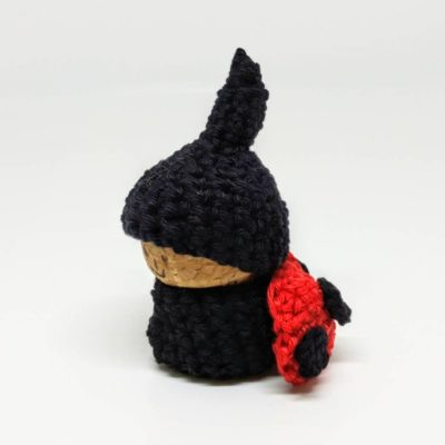 Crochet ladybird gnome - free pattern - Crochet Cloudberry