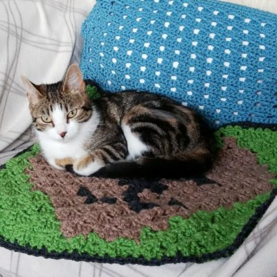 Free C-to-C cat blanket chart - Crochet Cloudberry