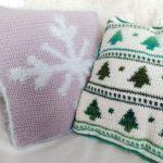 Holiday Pillows Crochet Cloudberry