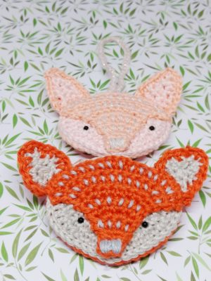 Fox Bauble - Free Christmas Crochet Pattern - Crochet Cloudberry