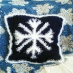 Fluffy Snowflake Cushion Cover - Crochet Pattern - Crochet Cloudberry