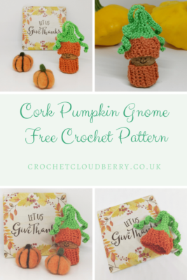Pumpkin Gnome - Free Crochet Pattern - Crochet Cloudberry