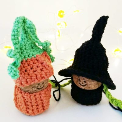 Crochet witch gnome - Free crochet pattern