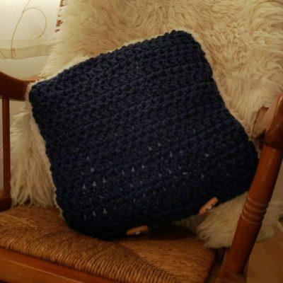 Snow Leopard Cushion - Free Crochet Pattern - Crochet Cloudberry