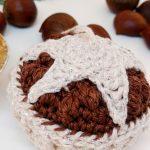 Crochet Mince Pie Christmas Bauble - Free Crochet Pattern - Crochet Cloudberry