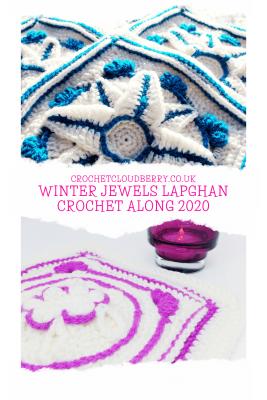 Winter Jewels Lapghan CAL