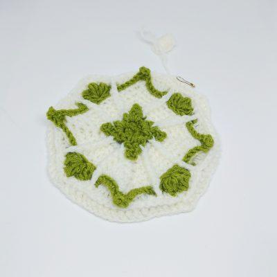 Emerald Cube Granny Square - Winter Jewel Lapghan Free Crochet Along - Free Crochet Pattern - Crochet Cloudberry