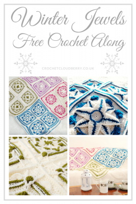 Winter Jewels Lapghan - free crochet along