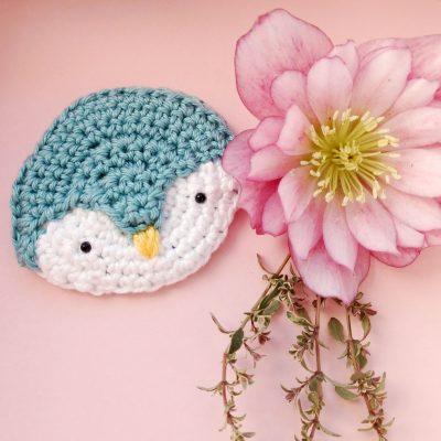Penguin Brooch - Free Crochet Pattern - Crochet Cloudberry