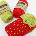 Strawberry Pocket Tissue Holder - Free Crochet Pattern - Crochet Cloudberry