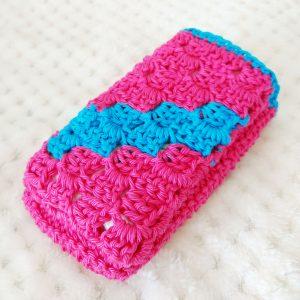 Crochet tissue pouch - Free crochet pattern - crochet cloudberry