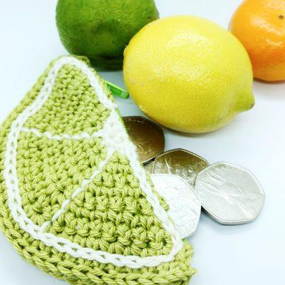 Summer Crochet Coin Purse - Free Crochet Pattern