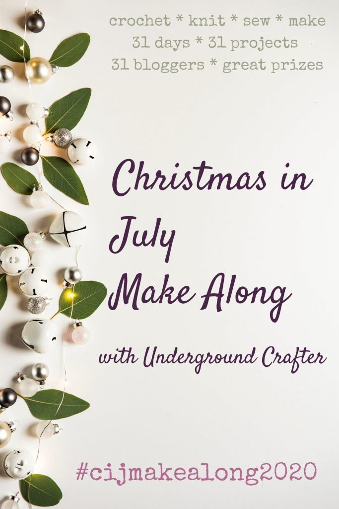 Christmas in July Make Along - Crochet Cloudberry
