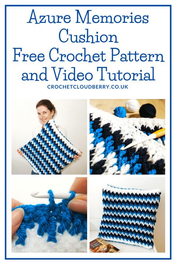Free Crochet Cushion Pattern - Crochet Cloudberry
