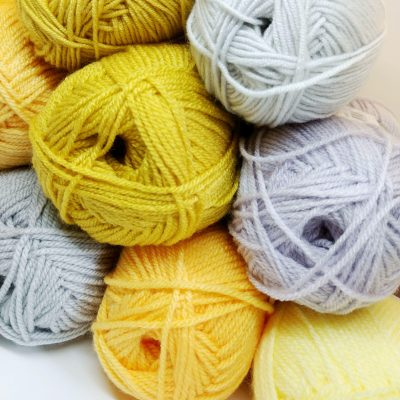 Yellow Crochet - Crochet Cloudberry