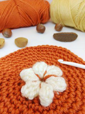 Pumpkin Pie Granny Square - free crochet pattern - autumn crochet