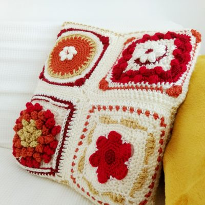 New England in Fall Cushion Crochet Along - Free Crochet Pattern - Crochet Cloudberry