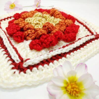 Chysanthemum Granny Square - Free Crochet Pattern