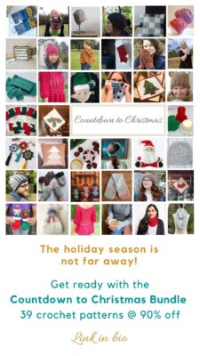 Countdown to Christmas Pattern Bundle