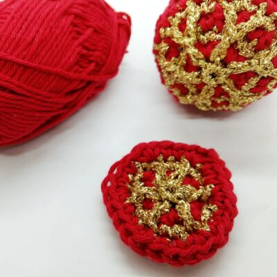 Quick crochet bauble - free crochet pattern - Crochet Cloudberry