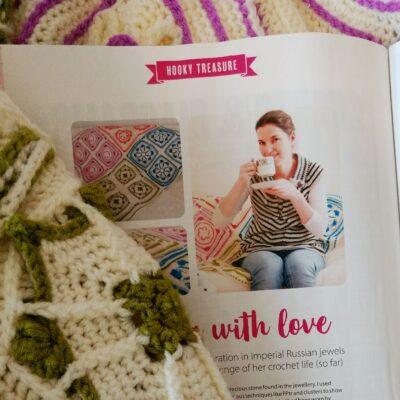 Crochet Cloudberry - contemporary crochet pattern