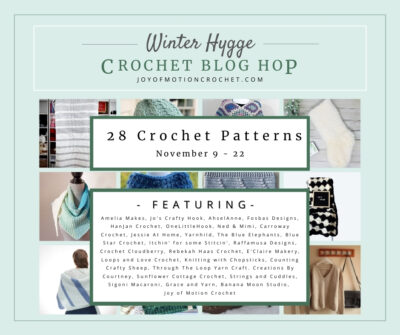 Winter Hygge Crochet Blog Hop