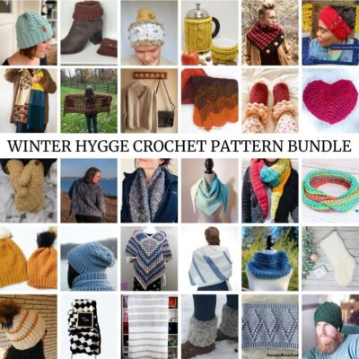 Winter Hygge Crochet Pattern Bundle