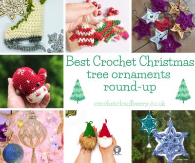 Best Christmas Tree Ornaments - Crochet Cloudberry