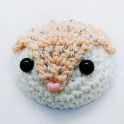 Fox Christmas Ornament Crochet Pattern