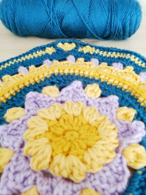 2021 Crochet Blanket - free crochet pattern - Crochet Cloudberry