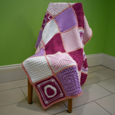 Friendship Blanket CAL Crochet Along - CrochetCloudberry
