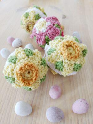 Daffodil Easter Bauble - Free Crochet Pattern - Crochet Cloudberry