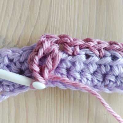 Blossom Stitch - Crochet Flowers in a Row - Free Crochet Tutorial by Crochet Cloudberry