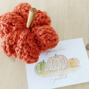 Free crochet pumpkin pattern - crochet cloudberry