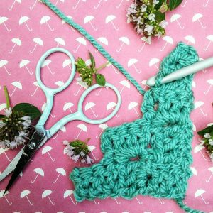 Corner to corner crochet tutorial