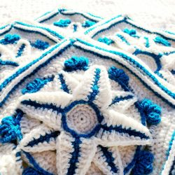 Winter Jewels CAL - Free Granny Squares Pattern by Crochet Cloudberry